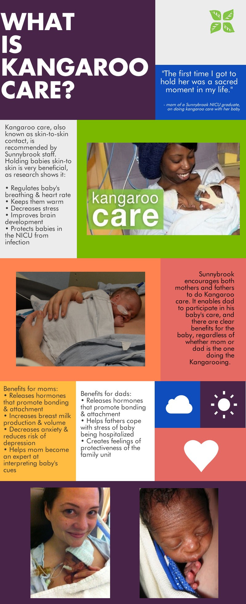 What is Kangaroo Care pamphlet
