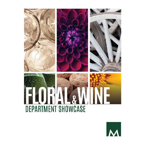 MKT012 - Floral and Wine Showcase