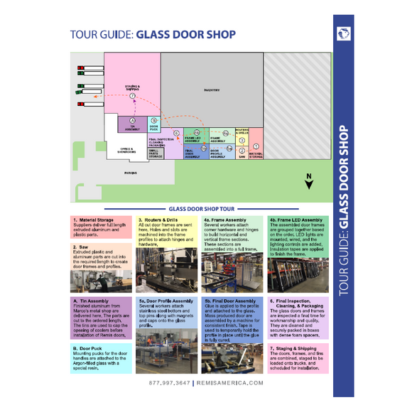 MKT034 - Glass Door Shop Tour Guide