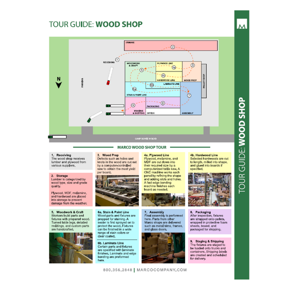 MKT049 - Wood Shop Tour Guide