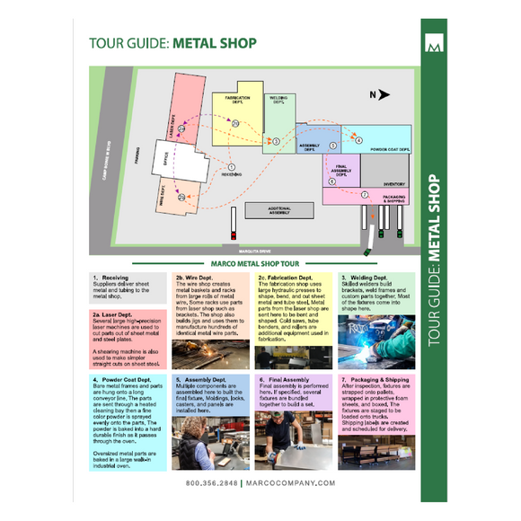 MKT050 - Metal Shop Tour Guide