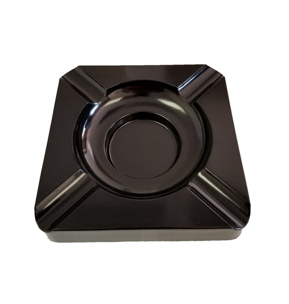 Large Cigar Ashtray - Black - A91