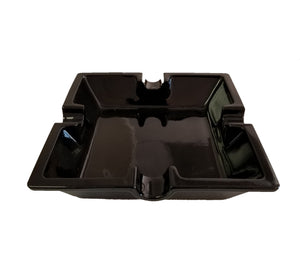 Medium Cigar Ashtray - Black - A115