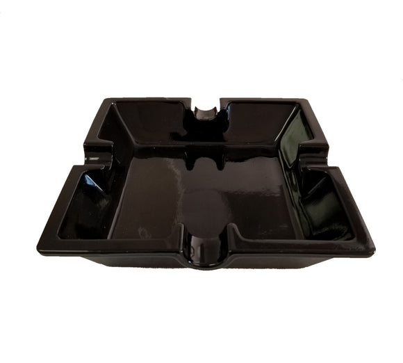 Medium Cigar Ashtray - Black
