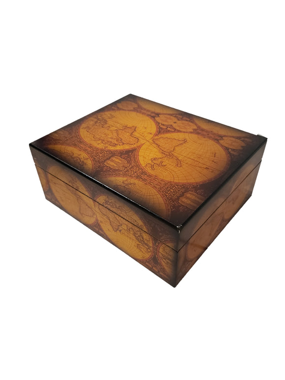 50 Count Humidor - Capri Old World