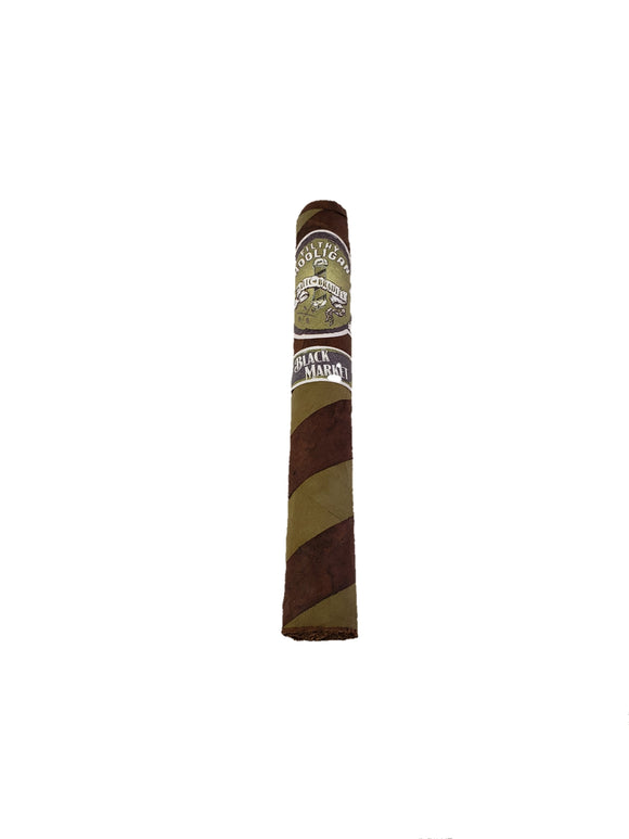 Alec Bradley - Black Market Filthy Hooligan Barber Pole - 6 x 50 Toro (Box of 22 or Single Cigar)