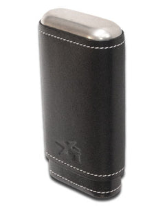 XIKAR Envoy 3 Cigar Case - 3 Cigars - Black