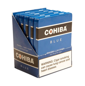 Cohiba - Blue - 4 3/16 x 31 Pequeno - Tin of 6