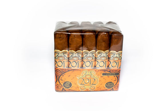 2012 by Oscar Cigars - Corojo - 4 x 52 Short Robusto - (Bundle of 20 or Single Cigar)