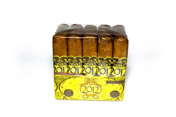 2012 by Oscar Cigars - Connecticut - 4 x 52 Short Robusto - (Bundle of 20 or Single Cigar)