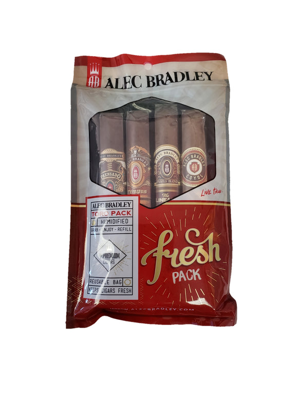 Alec Bradley - Fresh Pack #1 - 4 Toro Cigars