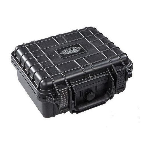 Gurkha Travel Humidor - 15 Cigars - Solid Black