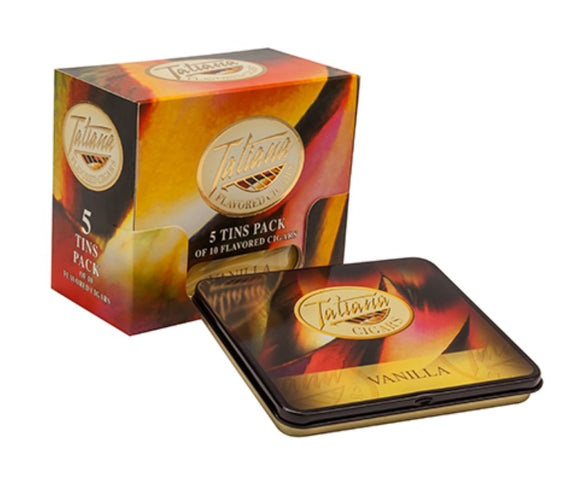 Tatiana Mini - 3.5 x 26 - Honey Flavor - (Tin of 10 or Single Cigar)