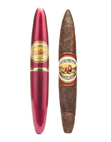 La Aurora Preferidos Tube Ruby - 5 x 54 Perfecto - Single Cigar
