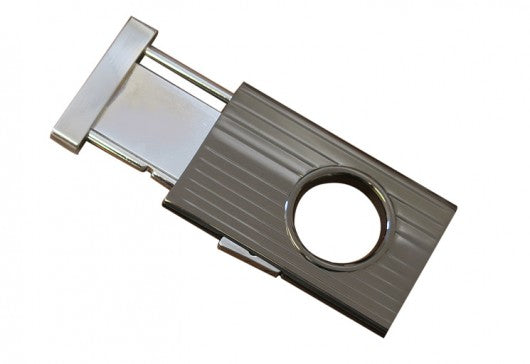 Prestige Retractable Cigar Cutter (Gun Metal) - 58 Ring Gage