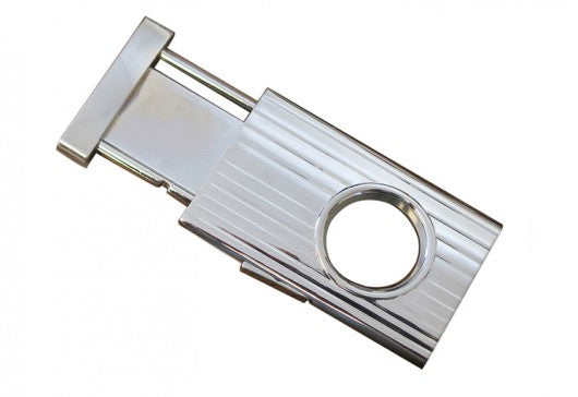 Prestige Retractable Cigar Cutter (Silver) - 58 Ring Gage