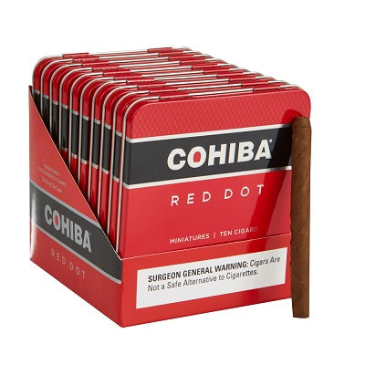 Cohiba - Red Dot Miniature - Tin of 10