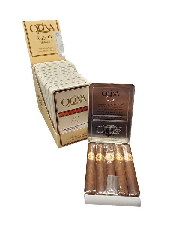 Oliva Serie O Habano - 4 x 38 Cigarrillo - Tin of 5