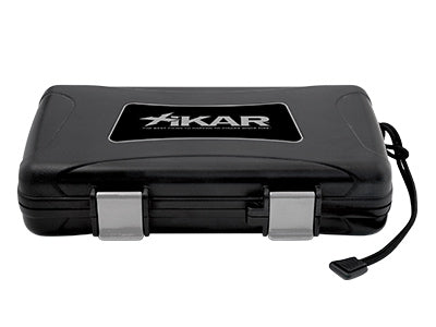 XIKAR Travel Humidor - 5 Cigars - Black