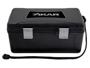 XIKAR Travel Humidor - 15 Cigars - Black