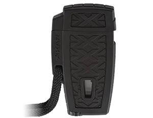 XIKAR Stratosphere II Lighter - Single Torch - Black