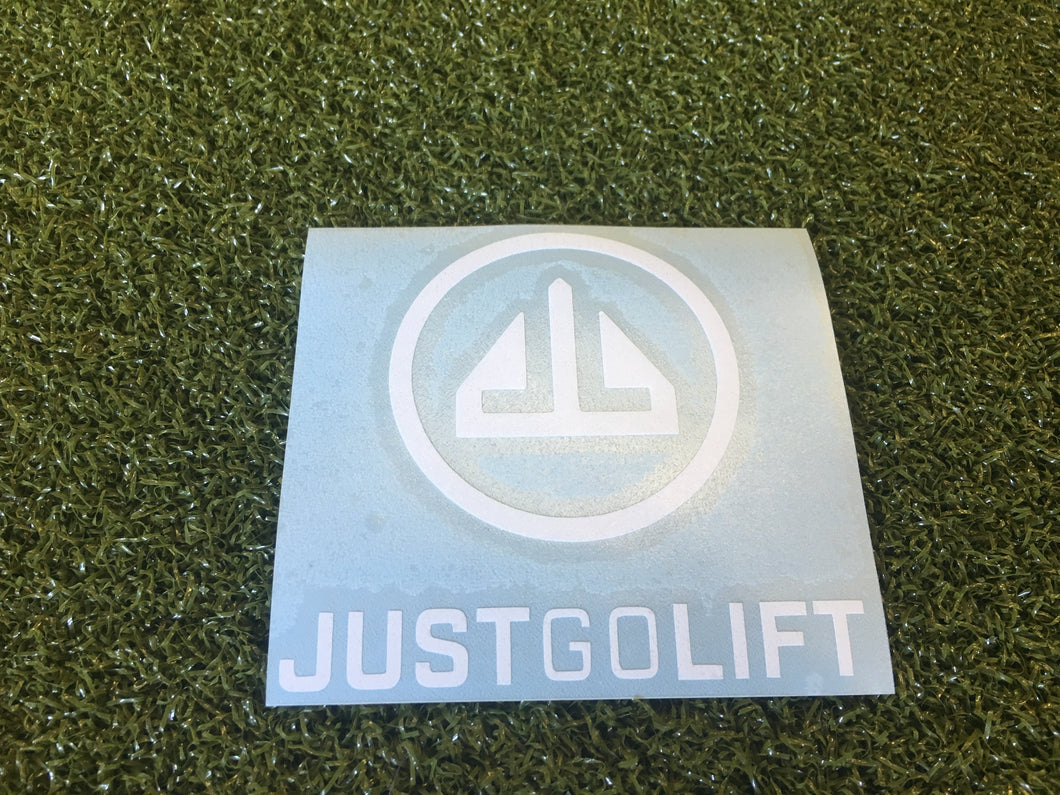 3x3 Just Go Lift Sticker
