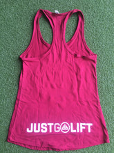 Just Go Lift Racerback Women's Tank