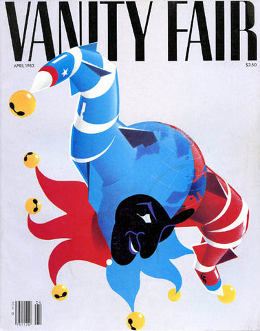 Vanity Fair Magazine April 1983