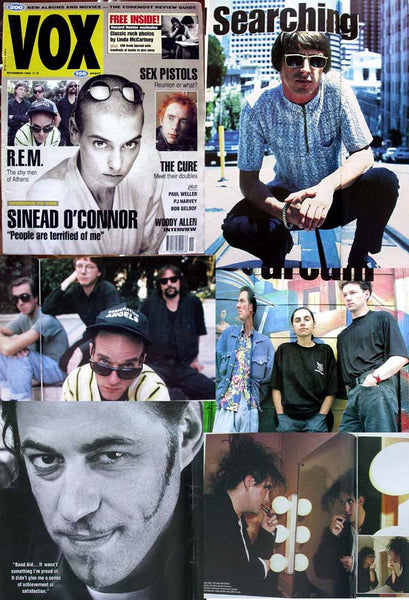 SINEAD The CURE Robert Smith 1992 VOX Magazine