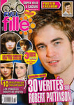 TAYLOR LAUTNER Robert Pattinson BIEBER French Fulle Fille Magazine 59