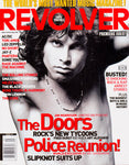 JIM MORRISON Doors Premiere Issue!! REVOLVER Magazine 2000 SLIPKNOT Police