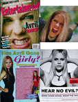 AVRIL LAVIGNE 2002 Entertainment Weekly Magazine + Clippings