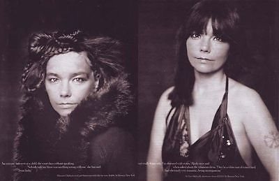BJORK Lot: 2004 New York Times Magazine + 3 Rolling Stone Clippings