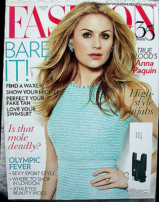 ANNA PAQUIN True Blood Summer 2012 Canada Fashion Magazine