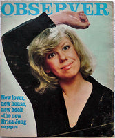 ERICA JONG Fear of Flying 1977 British OBSERVER Weekend Magazine Interview