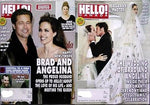 ANGELINA JOLIE BRAD PITT lot 2 Hello Canada Magazines WEDDING PHOTOS 2014
