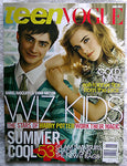 HARRY POTTER 2007 TEEN VOGUE Magazine Emma Watson Daniel Radcliffe Rupert Grint