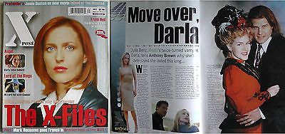 Gillian Anderson X-files Xpose Magazine 63 Kevin Sorbo Julie Benz Mark Dacascos