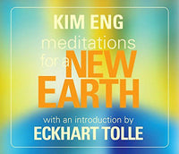 Kim Eng Meditations for New Earth BOXED CD Set BRAND NEW! Intro by Eckhart Tolle