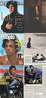 BILLY JOEL Lot 3 Magazines: 1979 PEOPLE + Rolling Stone Magazine 381 + 570 1982
