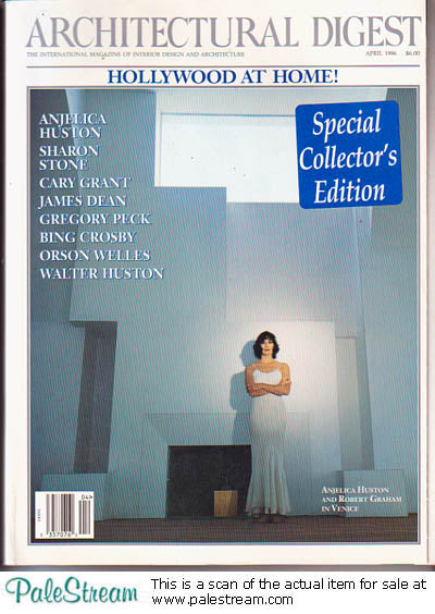 HOLLYWOOD 1996 Architectural Digest Magazine