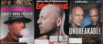 BRUCE WILLIS Lot 3 Entertainment Weekly Magazines No. 67 + 275 + 571