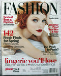 Jessica Stam Six Page Lingerie Layout 2005 Canada Fashion Magazine