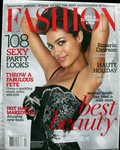 ROSARIO DAWSON 2006 Canada Fashion Magazine RENT