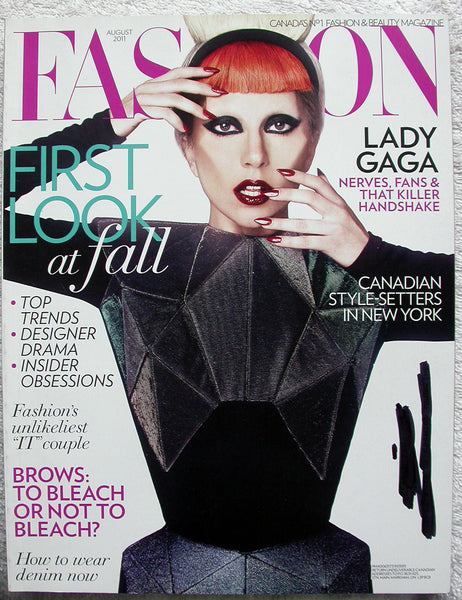 LADY GAGA Canada FASHION Magazine 2011 August RAMOLA GARAI Anna Dello Russo