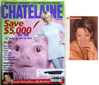 Sarah McLachlan January 1998 Chatelaine Magazine