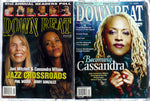 CASSANDRA WILSON Lot 2 Downbeat Magazines: December 1976 + 2004