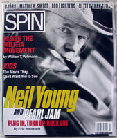 NEIL YOUNG - PEARL JAM September 1995 Spin Magazine Bjork