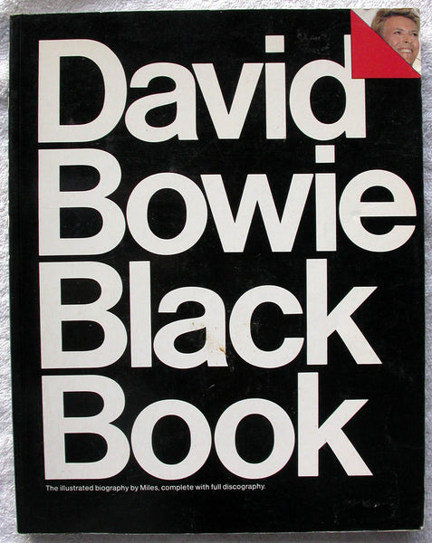 DAVID BOWIE Black Book by Barry Miles, Pearce Marchbank and Chris Charlesworth