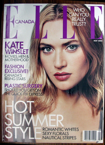 KATE WINSLET May 2002 ELLE Canada Magazine 11